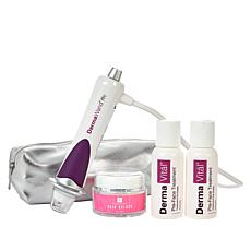 DermaWand Pro Anti-Aging Kit with 2 PreFace, Skin Quench & Bag