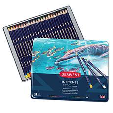 DERWENT Inktense 24-piece Colored Pencil Set