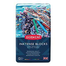 Derwent Inktense Blocks Set of 12