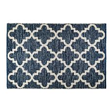 Design Imports 2' x 3' Reversible Lattice Rug