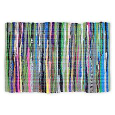 Design Imports 4' x 6' Reversible Rag Rug