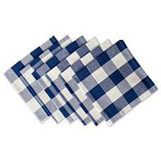 Design Imports 6-pack Buffalo Check Napkins