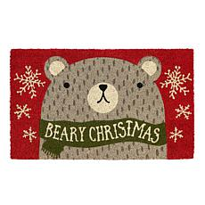 Design Imports Beary Christmas Doormat