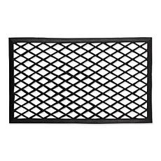 Design Imports Diamond Lattice Rubber Doormat