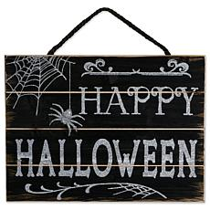 Design Imports Happy Halloween Hanging Sign