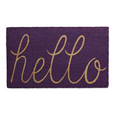 Design Imports Hello Doormat