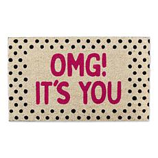 Design Imports OMG! It's You Doormat