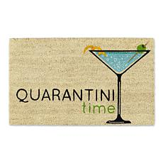 Design Imports Quarantini Time Doormat