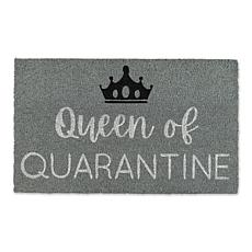 Design Imports Queen of Quarantine Doormat