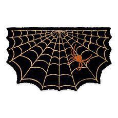 Design Imports Spider Web Doormat