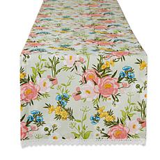 Design Imports Spring Bouquet Table Runner - 14 x 108