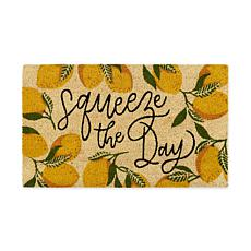 "Design Imports ""Squeeze the Day"" Doormat"
