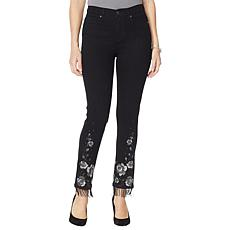 DG2 by Diane Gilman Classic Stretch Novelty Skinny Jean