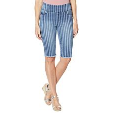 DG2 by Diane Gilman Classic Stretch Pull-On Bermuda Short - Fashion
