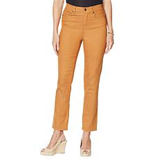 DG2 by Diane Gilman Classic Stretch Straight Ankle Jean - Fashion