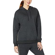 """DG2 by Diane Gilman """"DG Downtime"""" Brushed French Terry Sweatshirt"""