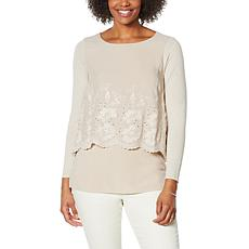DG2 by Diane Gilman Lace-Trim Easy Top