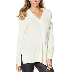 DG2 by Diane Gilman Lux Touch Boyfriend Sweater