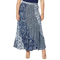 DG2 by Diane Gilman Patchwork Skirt