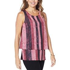 DG2 by Diane Gilman Printed Easy Tank