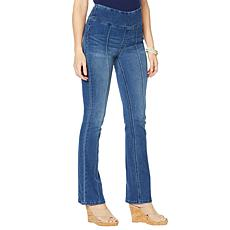 DG2 by Diane Gilman Suddenly Slim Boot-Cut Jegging - Basic
