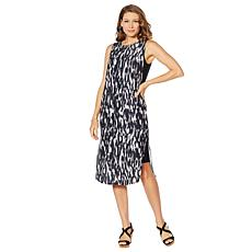 DG2 by Diane Gilman Tank Dress with Side Slits
