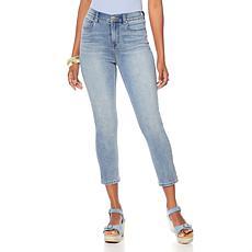 DG2 by Diane Gilman Virtual Stretch Cropped Skinny Jean - Basic