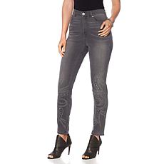 DG2 by Diane Gilman Virtual Stretch Scroll Skinny Jean