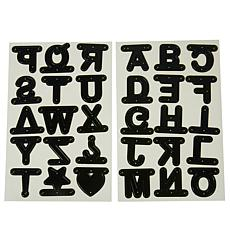 Diamond Press Alphabet and Banner Cutting Dies 30-pieces