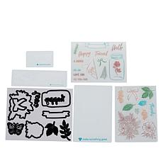 Diamond Press Bouquet Stamp and Die Bundle