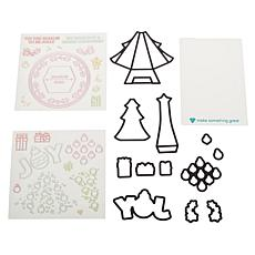 Diamond Press Christmas Tree Pop-Up Stamp and Die Set