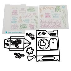 Diamond Press Everyday Gable Box Stamp and Die Set