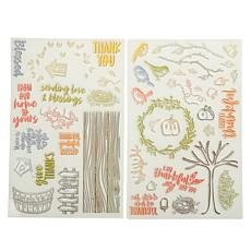 Diamond Press Fall Birds 44-Stamp Bundle