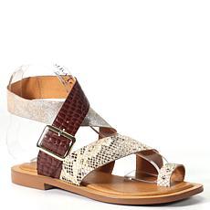 Diba True Cite See Leather Toe-Loop Sandal