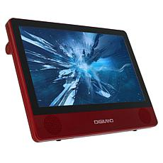"""DigiLand 9"""" Quad-Core 16GB Android Tablet & DVD Player w/Accessories"""