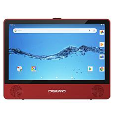 """DigiLand 9"""" Touch Tablet and Portable DVD Player"""