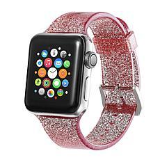 Digital Basics Glitter Silicone Sport Band for 38mm/40mm Apple Watch