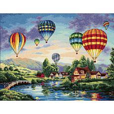 Dimensions Gold Cross Stitch Kit - Balloon Glow