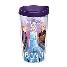 Disney Frozen 2 Group 16 oz Tumbler with lid