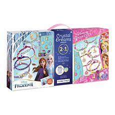 Disney Frozen II and Princess 2-in-1 DIY Mega Bracelet Kit