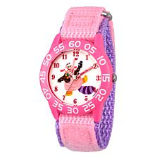 "Disney Inside Out ""Bing Bong"" Kid's Pink Strap Time-Teacher Watch"