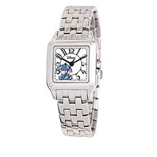 Disney Women's Eeyore Silvertone Square Dial Bracelet Watch