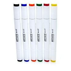 docrafts Dual Tip Markers 6-pack - Primary