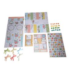 Docrafts Freshly Cut Flowers Paper Crafting Kit