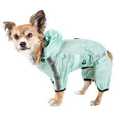 Dog Helios Torrential Shield Adjustable Full Body Dog Raincoat - XS