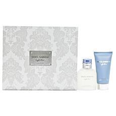 Dolce & Gabbana Light Blue Men 2.5 Eau De Toilette/ 2.5 Aftershave Set