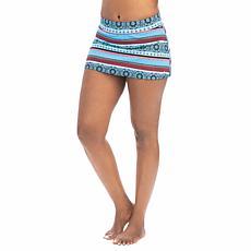 Dolfin Aquashape Serenity-Print A-Line Swim Skirt