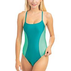 Dolfin Uglies Revibe High-Shine Diamondback One-Piece Swimsuit