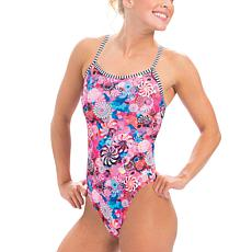 Dolfin Uglies Women's Double-Strap Open Keyhole Back Swimsuit
