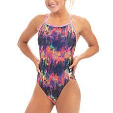 Dolfin Uglies Women's Printed V-2 Back Swimsuit